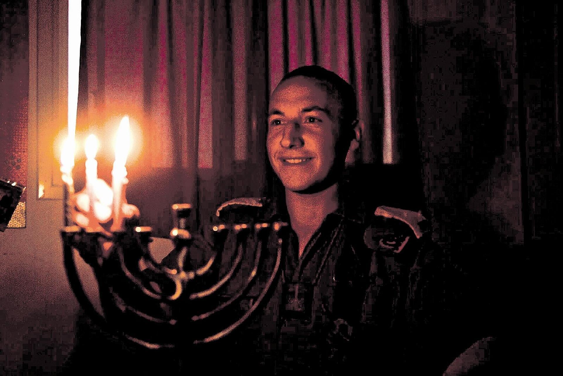 """סג""""מ דוד כץ. צילום: דובר צה""""ל"""