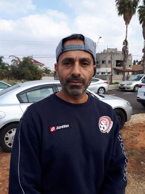ירון חממי, מאמן ומנהל קבוצת הנחל. צילום: אבישי גמליאל