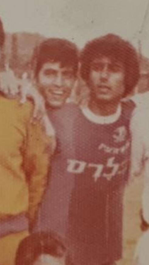 אבישי גמליאל (משמאל) ויואב יצחק במשחק מול נבחרת יפן. צילום: פרטי
