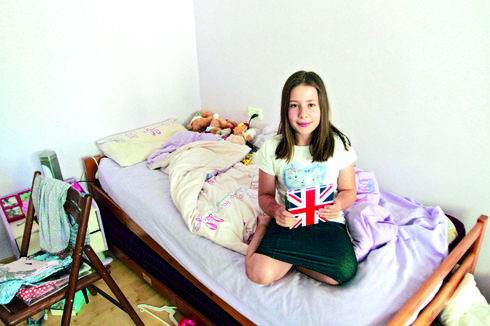 """""""אסור להביא ממתקים לבית הספר"""". אילנה בסר   צילום: אסף פרידמן"""