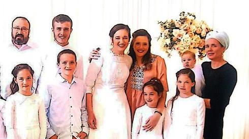 משפחת אטינגר. צילום: באדיבות המשפחה, מתוך ynet