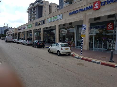 אזור החנייה בתשלום ברחוב שבזי