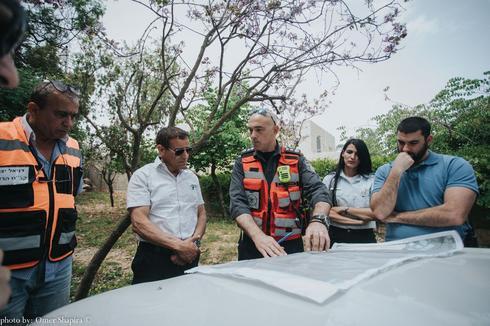 צילום: עומר שפירא, באדיבות דוברות כבאות והצלה מחוז מרכז