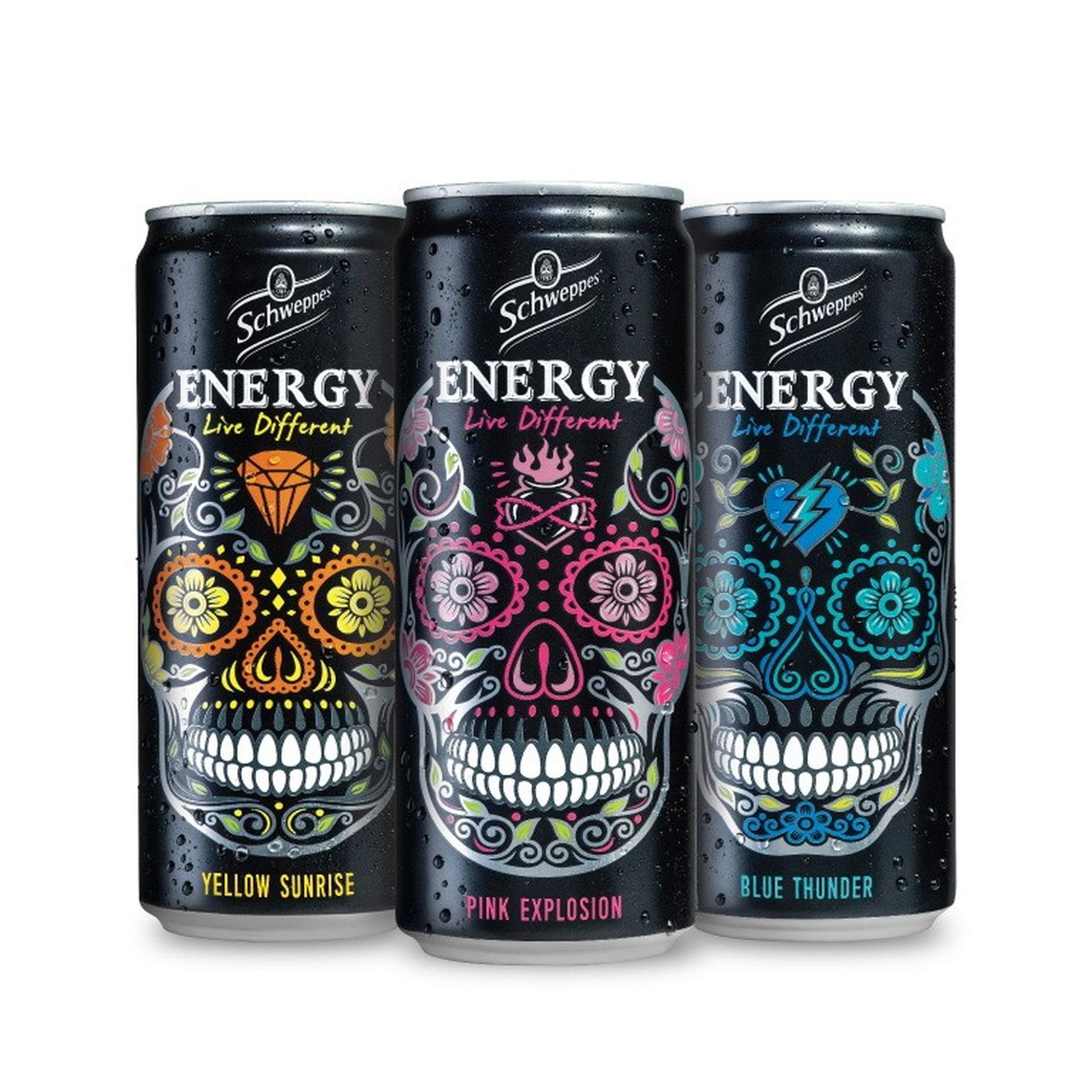 משקאות האנרגיה החדשים של שוופס. צילום: סטודיו יפאורה