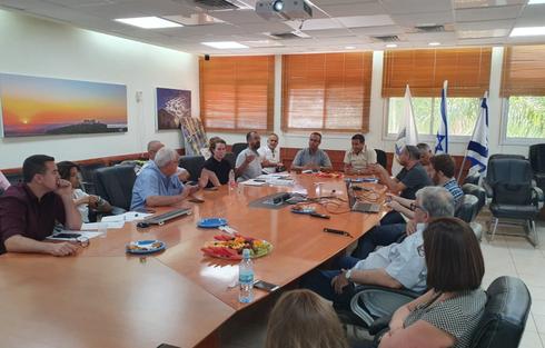 פגישת ההתחדשות העירונית | צילום: עיריית ראש העין