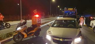 זירת התאונה | צילום: איחוד הצלה