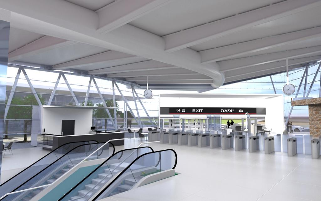 הדמית תחנת תעופה: אלי ארמון מתכננים ובוני ערים.