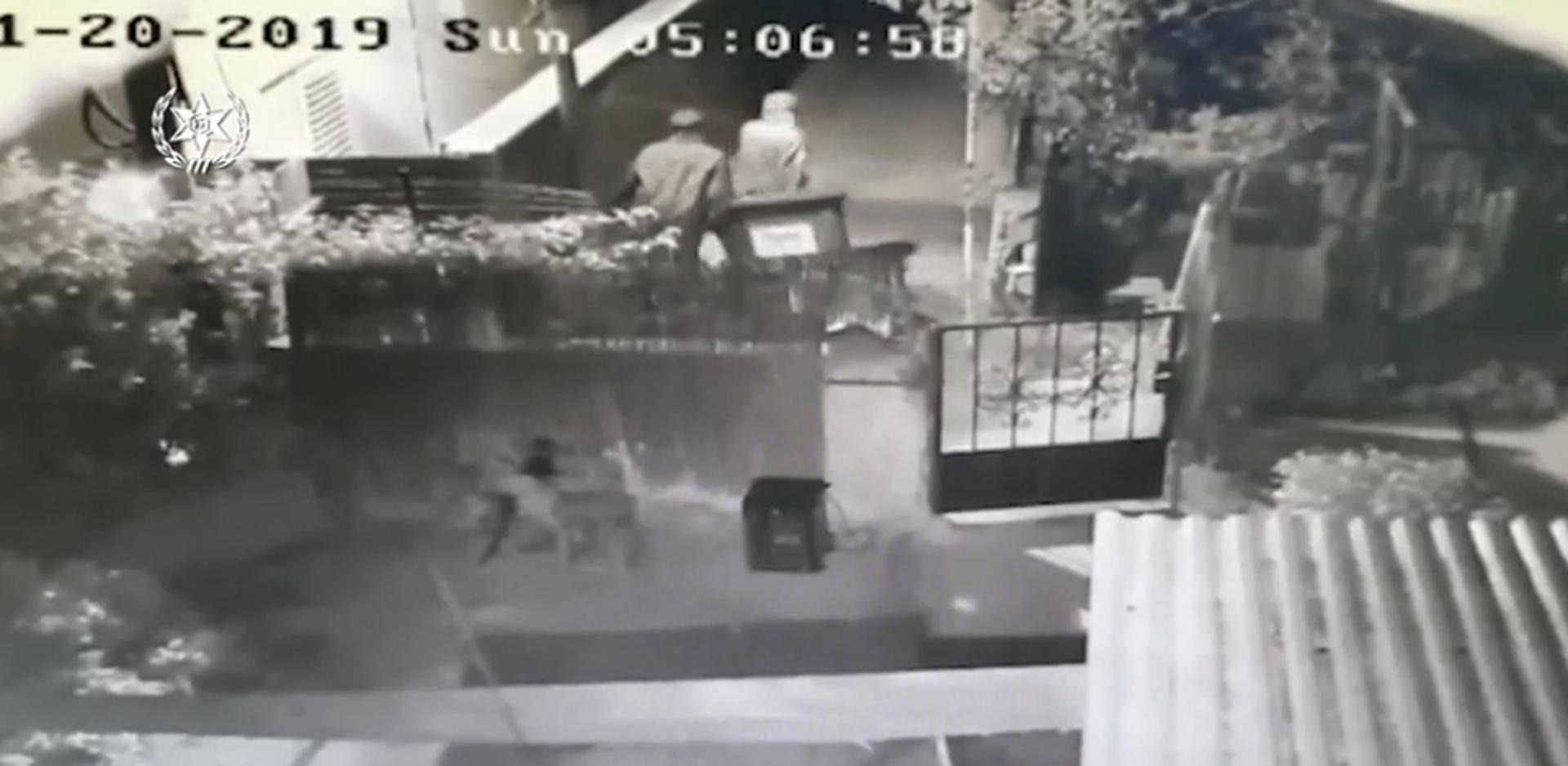 פענוח רצח עדיאל תורתי. צילום: מתוך סרטון שהפיצה המשטרה