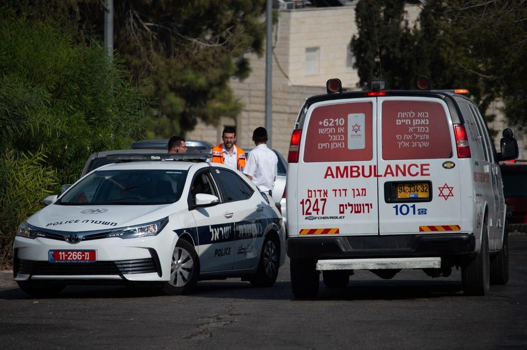 אמבולנס בירושלים. צילום: יואב דודקביץ'