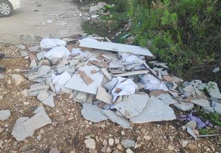 קנס על פסולת בניין   צילום: דוברות עיריית מודיעין